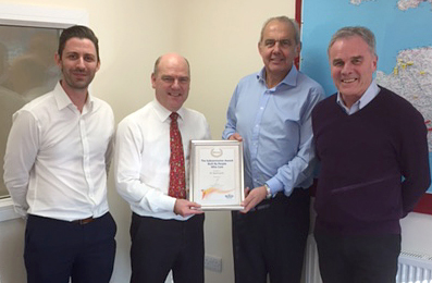 Bovis Sub-Contractor of the Year 2016 Award